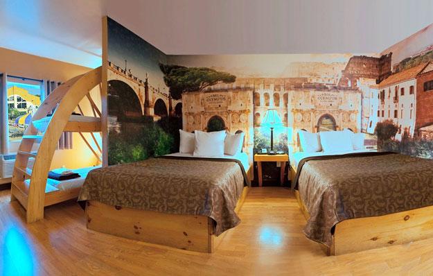 Mt Olympus Hotel Rome 2 Queens Bunk Mt Olympus