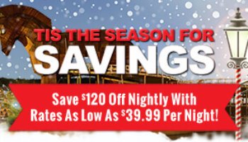 Rates Starting As Low As $39.99 Per Night!