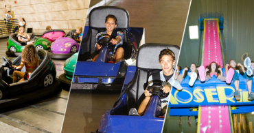 Top 3 Thrilling Indoor Theme Park Rides