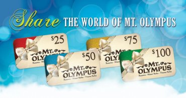 A Mt. Olympus Gift Card Is Perfect Gift For Any Occasion