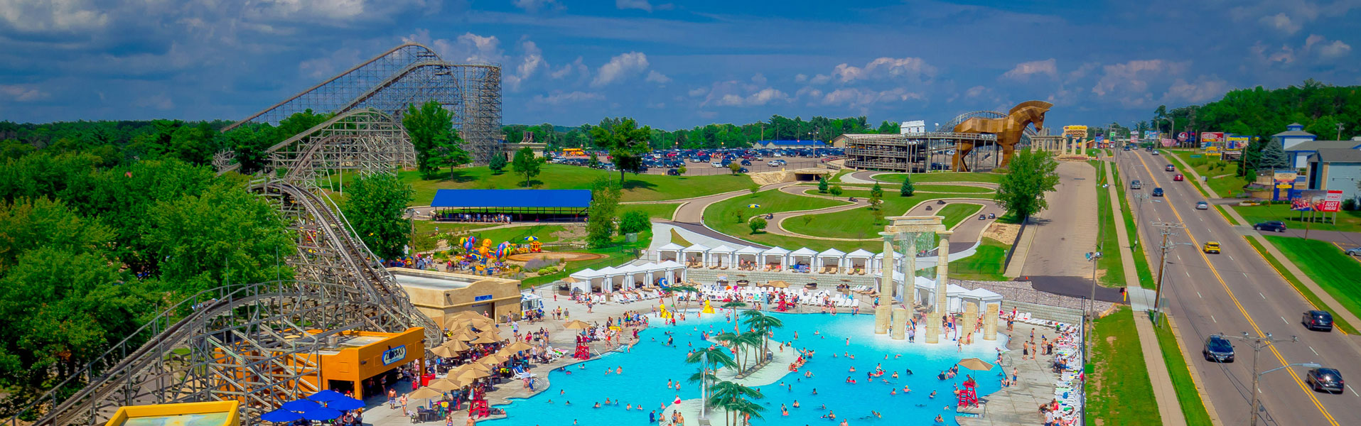 Mt. Olympus Water and Theme Park is a theme park and water park complex in Wisconsin Dells, datingcafeinfohs.cf Olympus consists of three areas of the park: Zeus' Playground (outdoor theme park), Neptune's Water Kingdom (outdoor waterpark), and Medusa's indoor water datingcafeinfohs.cf and , the park purchased several smaller nearby independent motels and hotels and renamed them, painting them blue and.