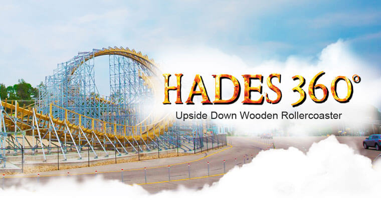 What A Ride Wooden Roller Coasters Mt Olympus Water