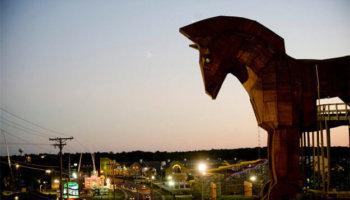 Trojan Horse Go-Kart Track