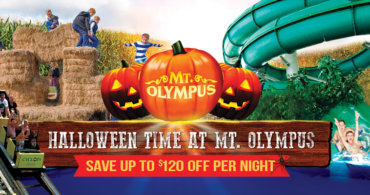 "Mt. Olympus is offering a ""Spook-tacular"" Halloween for its Guests!"
