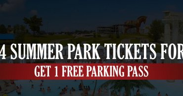Buy 4 Summer Park Tickets For $40 & Get 1 Free Parking Pass