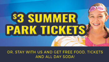 Extended Special! $3 Summer Water & Theme Park Tickets