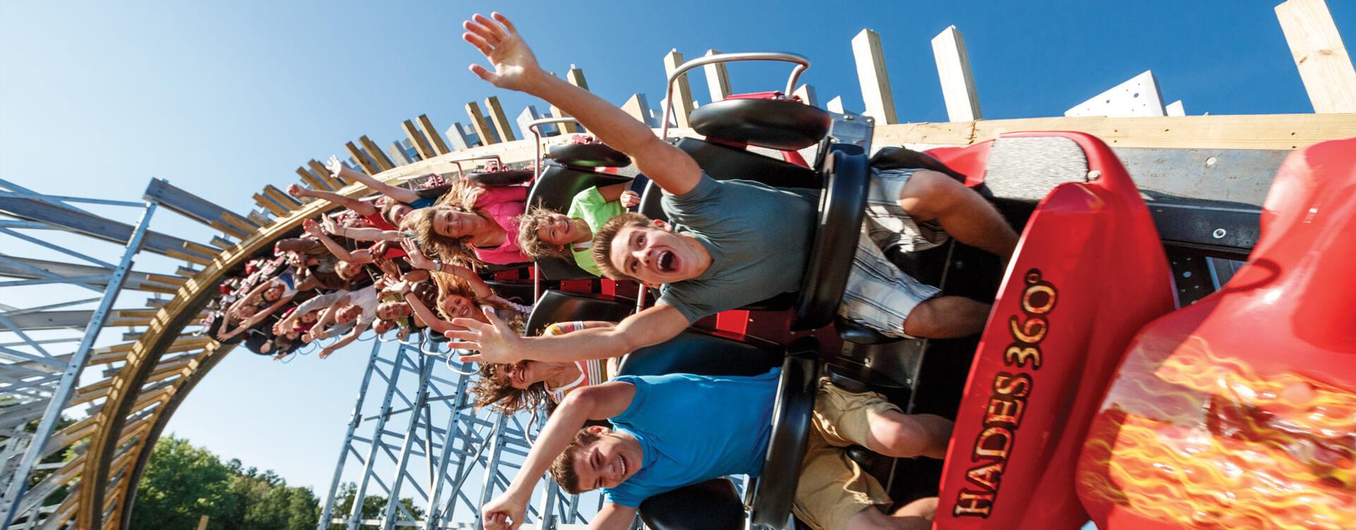 Hades 360 Roller Coaster