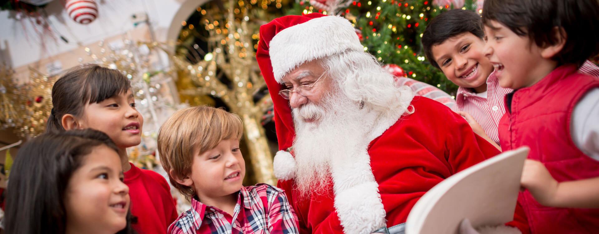 Santa in Wisconsin Dells